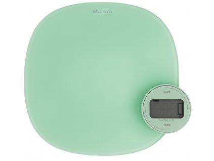 Kuchyňská váha Plus zelená