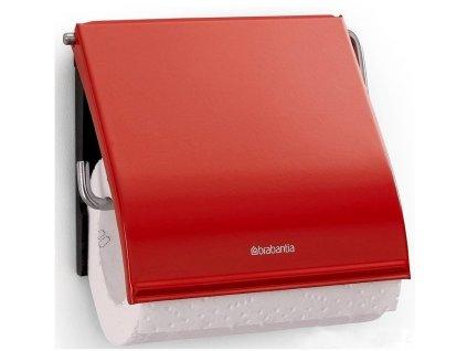 Držák toaletního papíru classic zářivě červená