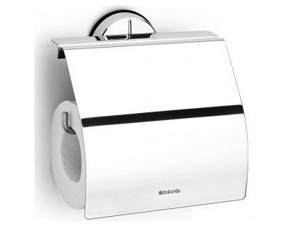 Držák toaletního papíru lesklá ocel