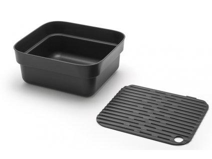 Nádoba na mytí nádobí šedá