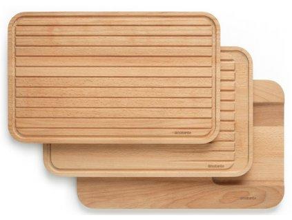 Sada dřevěných krájecích desek
