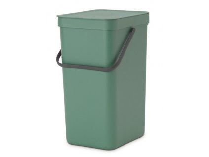 Sort & Go Waste Bin, 16L Fir Green 8710755129827 Brabantia 96dpi 1000x1000px 7 NR 21356
