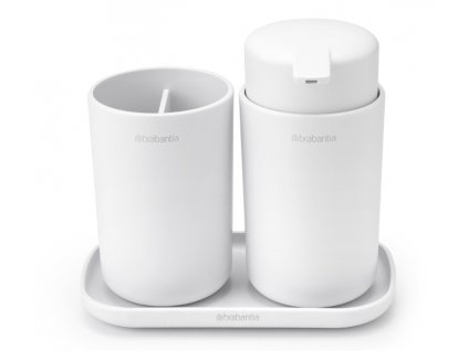 ReNew Bathroom Accessory set of 3 White 8710755280382 Brabantia 96dpi 1000x1000px 7 NR 22199