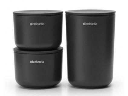 ReNew Storage Pots, set of 3 Dark Grey 8710755281303 Brabantia 96dpi 1000x750px 7 NR 22041