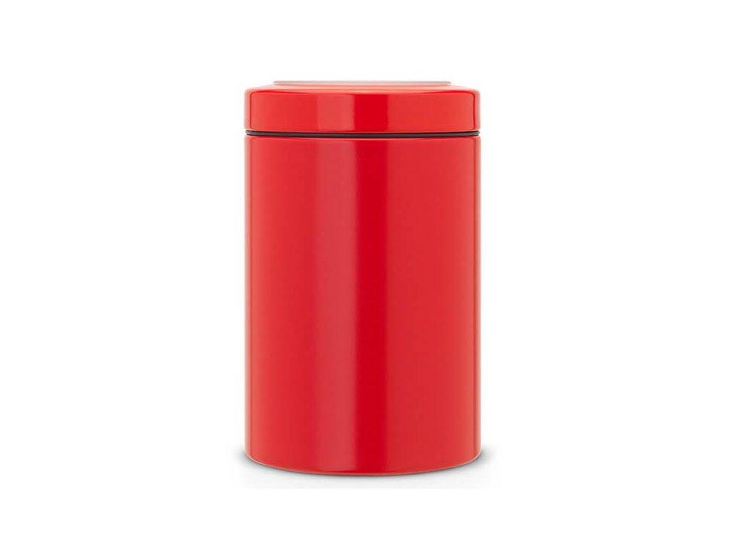 179 doza pruhledne viko zarive cervena