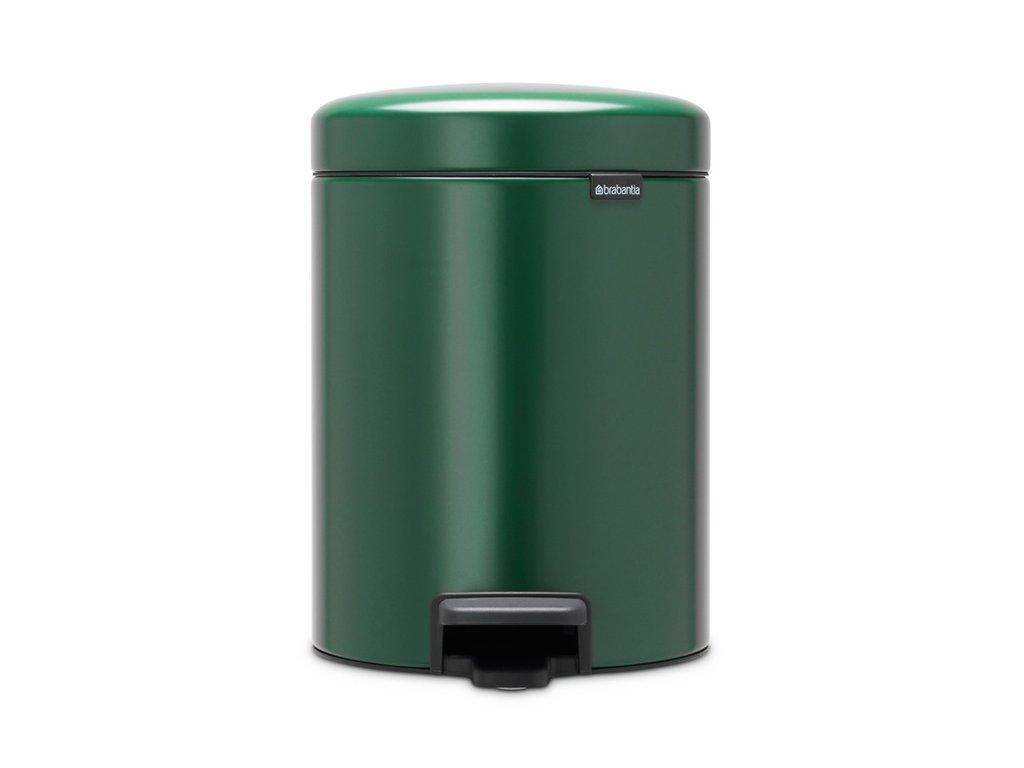 Pedálový kôš NewIcon 5L Zelená
