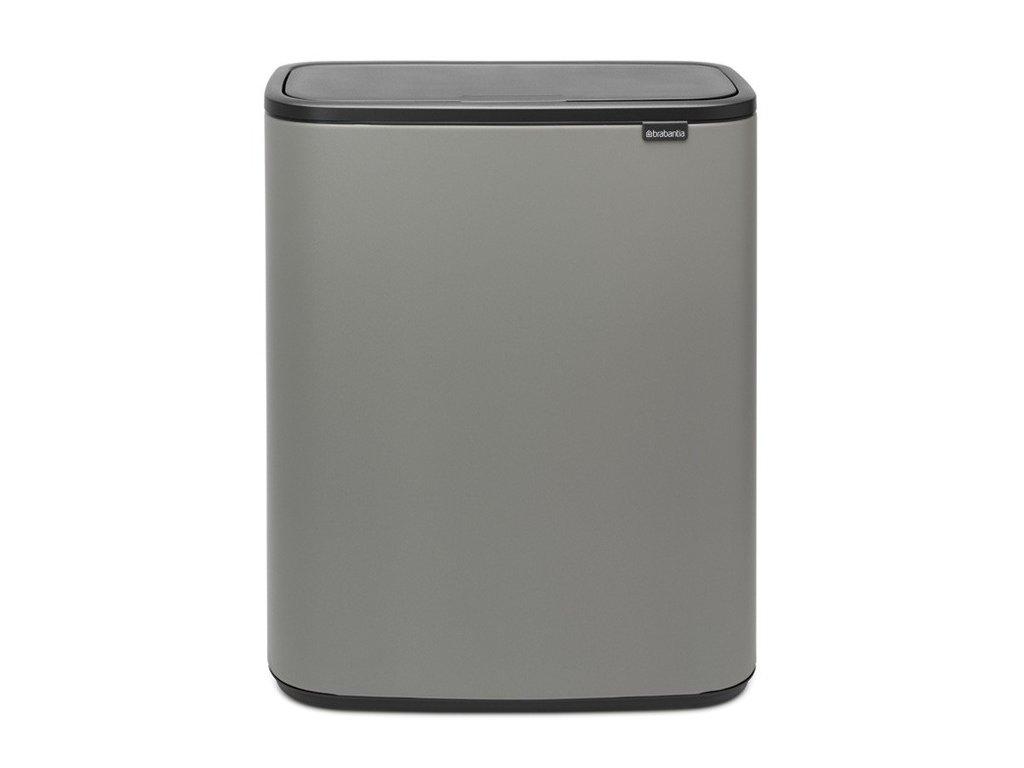 2346 bo touch bin 2x30l mineralni seda