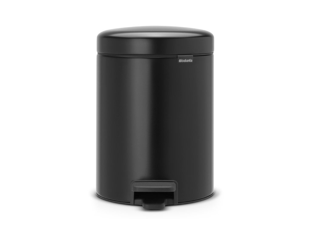 Pedal Bin newIcon, Recycle 2x2L Matt Black 8710755280405 Brabantia 96dpi 1000x1000px 7 NR 21588