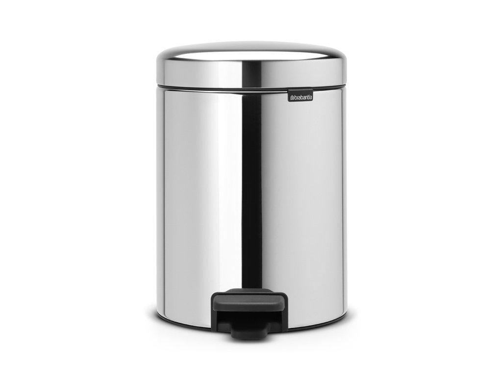 Pedal Bin newIcon, Recycle 2x2L Brilliant Steel 8710755280481 Brabantia 96dpi 1000x1000px 7 NR 21532