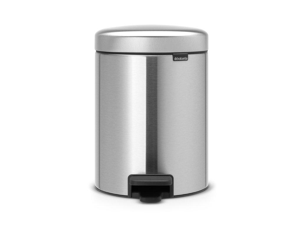 Pedal Bin newIcon, Recycle 2x2L Matt Steel 8710755280467 Brabantia 96dpi 1000x1000px 7 NR 21617