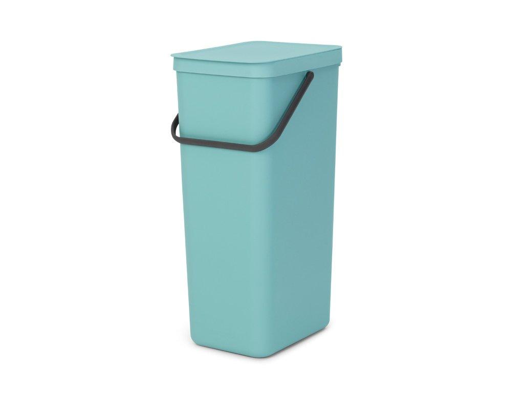 Sort & Go Recycle Bin, 40L Mint 8710755251085 Brabantia 96dpi 1000x1000px 7 NR 23629