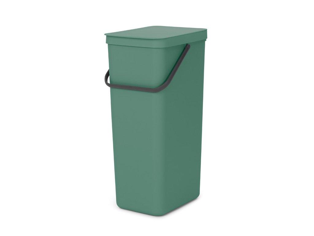 Sort & Go Recycle Bin, 40L Fir Green 8710755251023 Brabantia 96dpi 1000x1000px 7 NR 23219