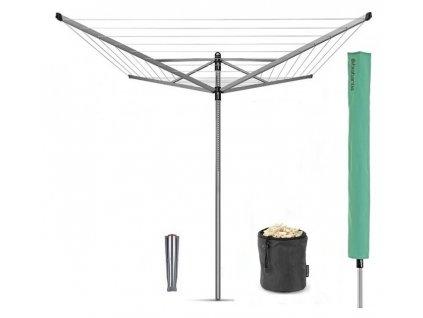 Záhradný sušiak Lift-O-Matic 50m s krytom, vakom a štipce
