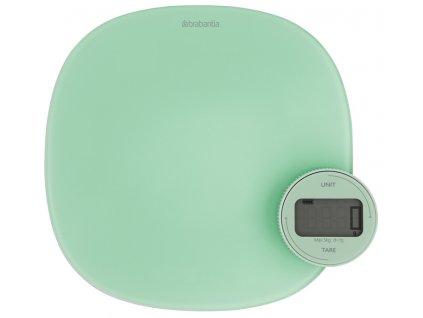 Kuchynská váha Plus zelená
