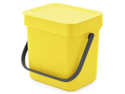 Kôš Sort & Go 3L žltá