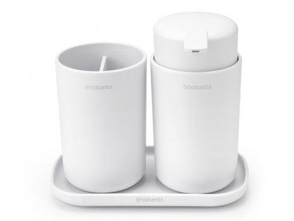 ReNew Bathroom Accessory set of 3 White 8710755280382 Brabantia 96dpi 1000x1000px 7 NR 22199