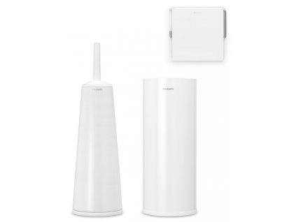 ReNew Toilet Accessory Set of 3 White 8710755280627 Brabantia 96dpi 1000x1000px 7 NR 21495