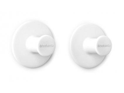 ReNew Towel hooks, set of 2 White 8710755280344 Brabantia 96dpi 1000x1000px 7 NR 22187