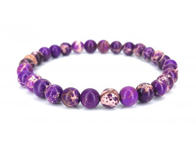 Jaspis fialový