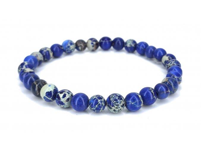 Jaspis tmavě modrý