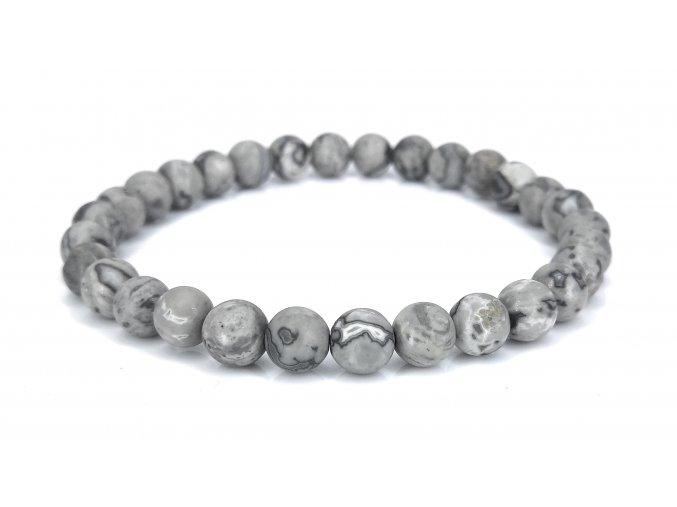Jaspis šedý