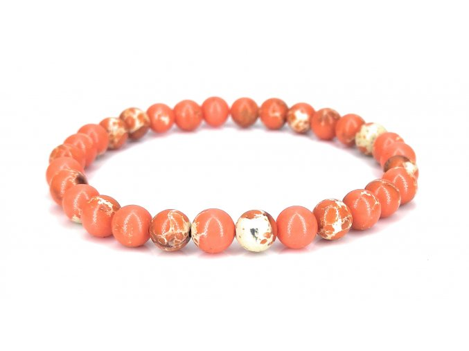 Jaspis oranžový