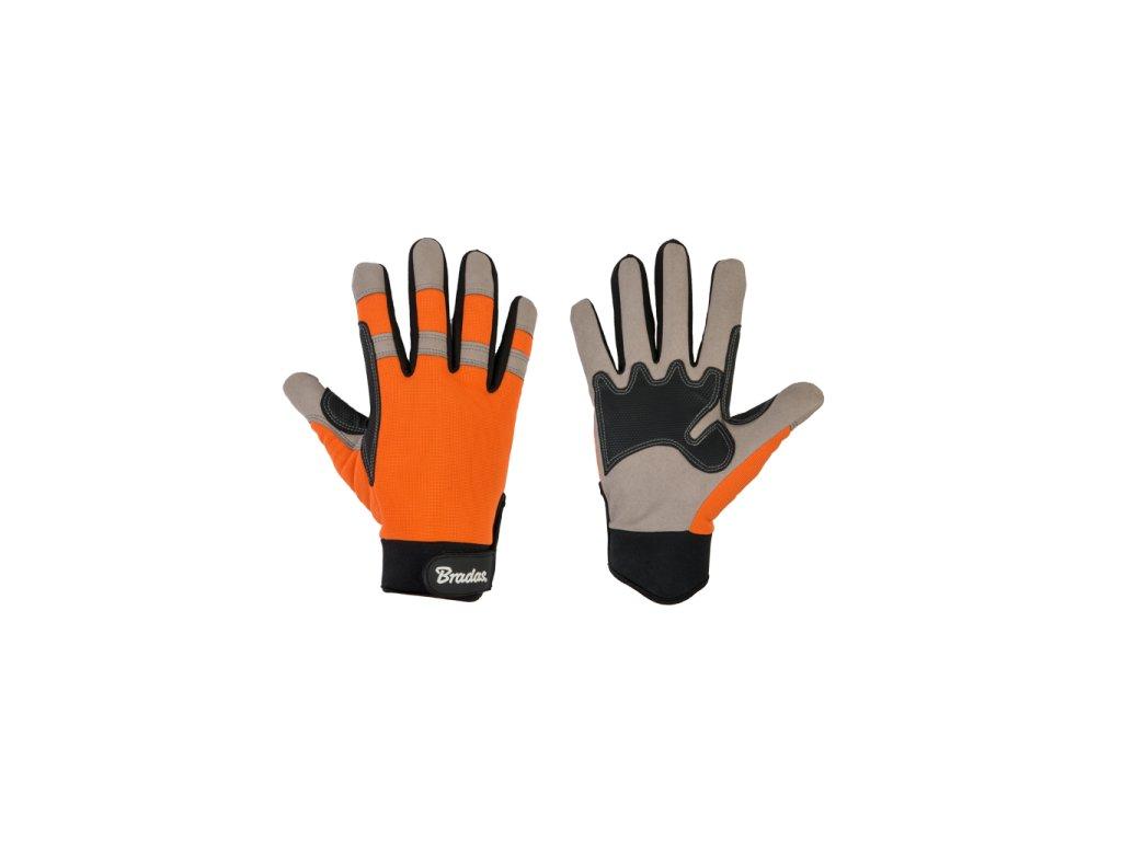 RWTGY9 rukavice bradas Tech grey