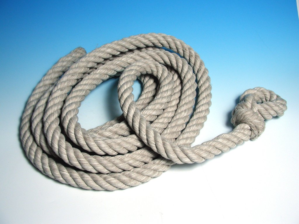 Šplhací lano BAVLNA - 5m