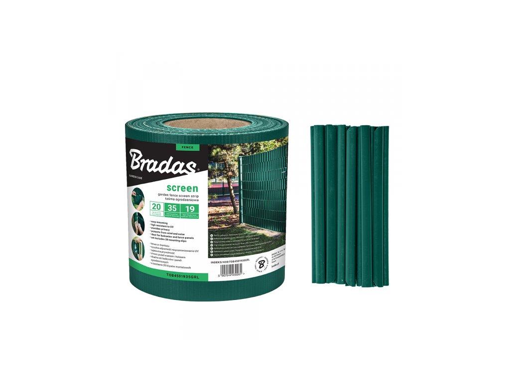 TOB4501935GRL stínící plotová folie Bradas