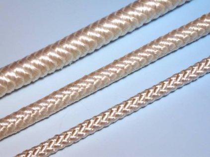 Pletená šňůra 2mm bez jádra