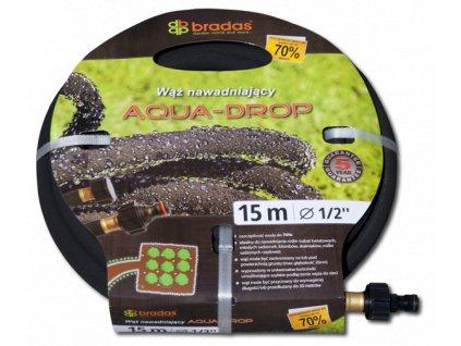 Zahradní zavlažovací hadice AQUA-DROP 1/2 15m