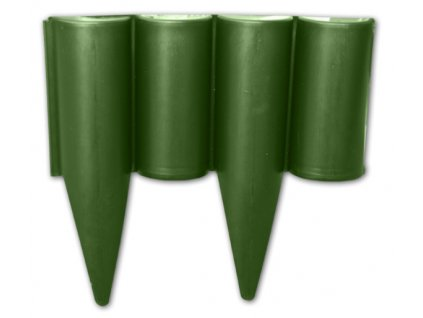 Okrasná zahradní palisáda - zelená