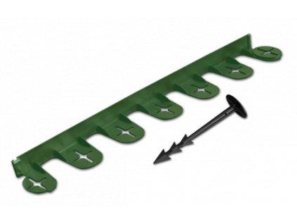 Skrytá obruba PALISGARDEN BRADAS 38mm - 3m zelená
