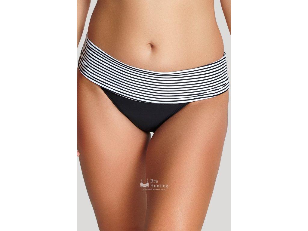 panache-plavkove-vysoke-ohrnovaci-kalhotky-anya-stripe-sw0897