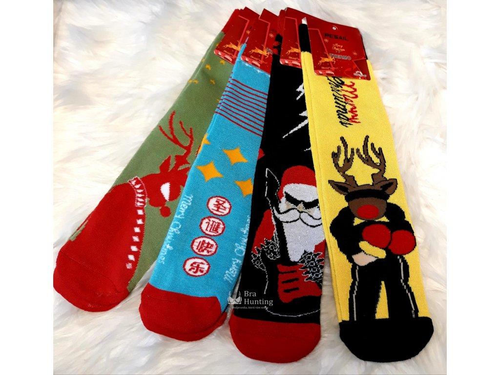 obrazkove-ponozky-s-tmavou-kocickou