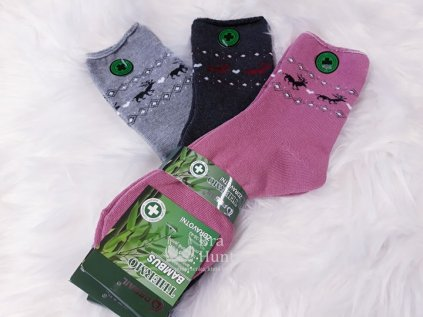 danske zdravotni bambusove ponozky 3pack