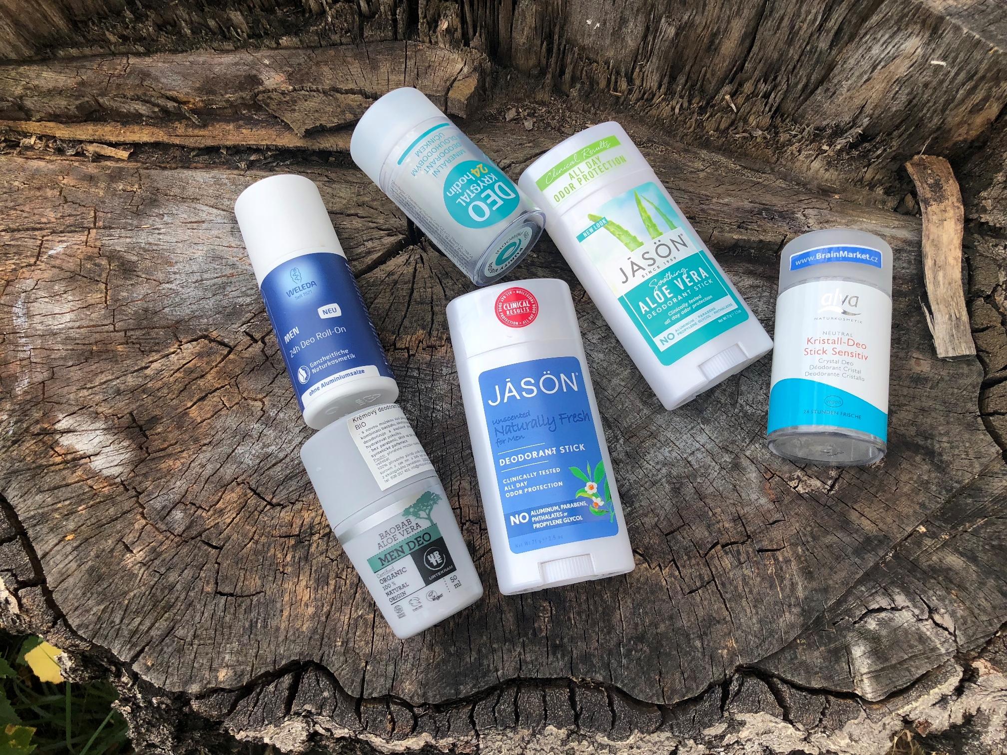 Přírodní deodoranty vs. klasické