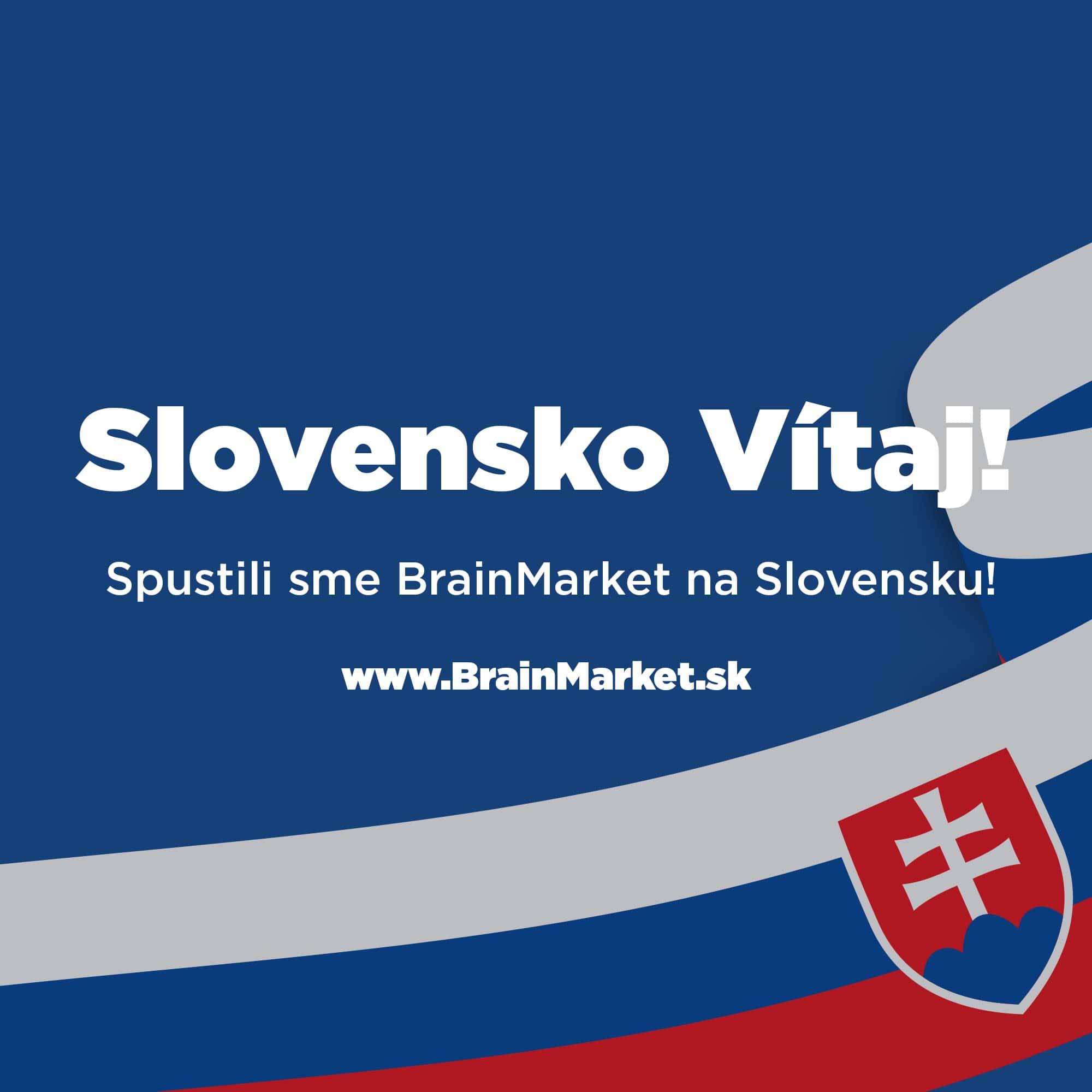 Spouštíme BrainMarket.SK