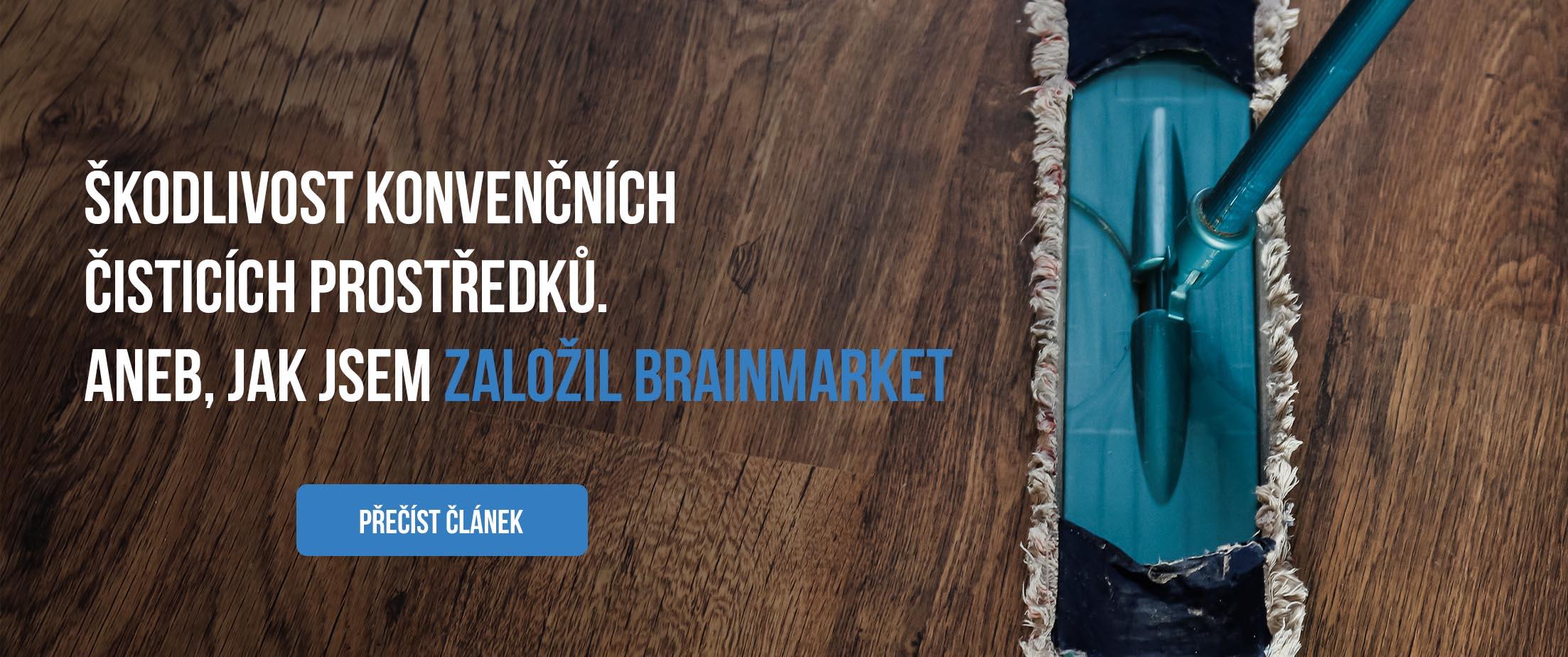 Jak jsme založili brainmarket