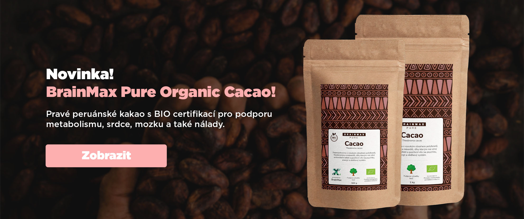 Brainmax Pure Organic Cacao