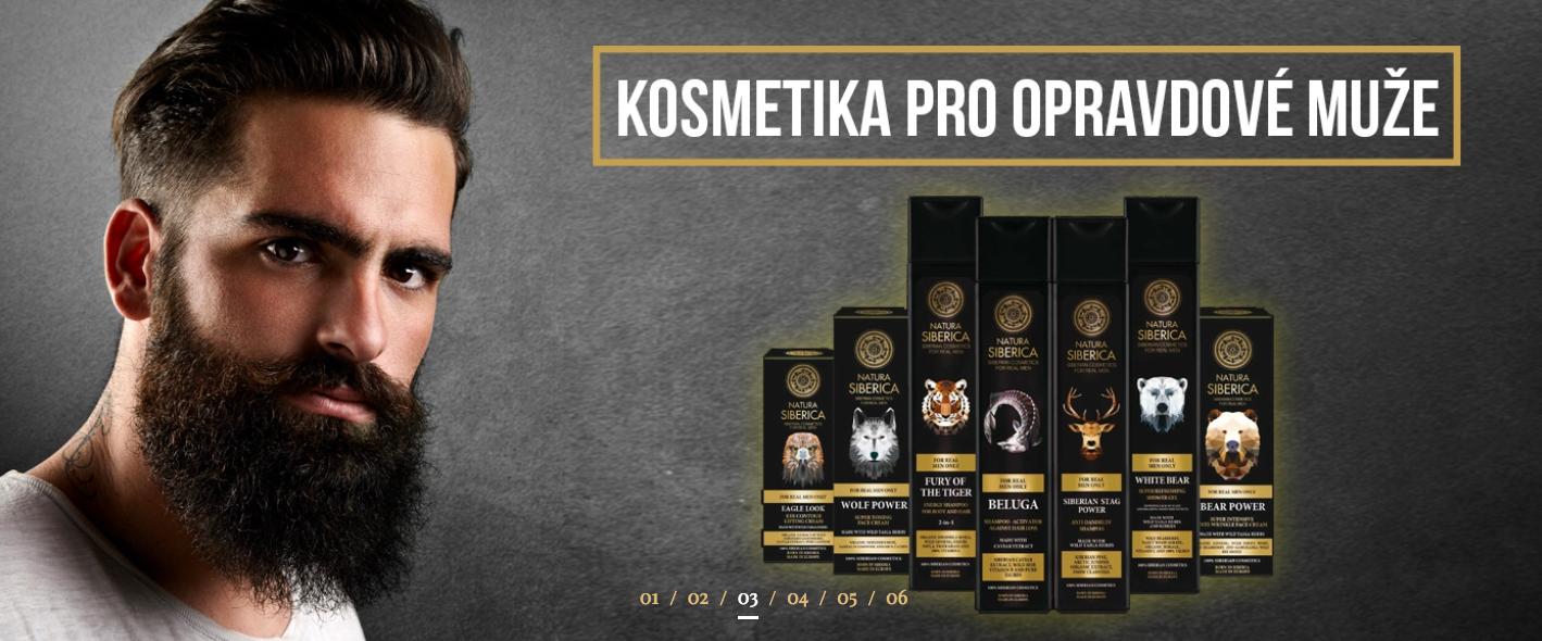 Anti-Estrogenní kosmetika pro muže ze Sibiře!