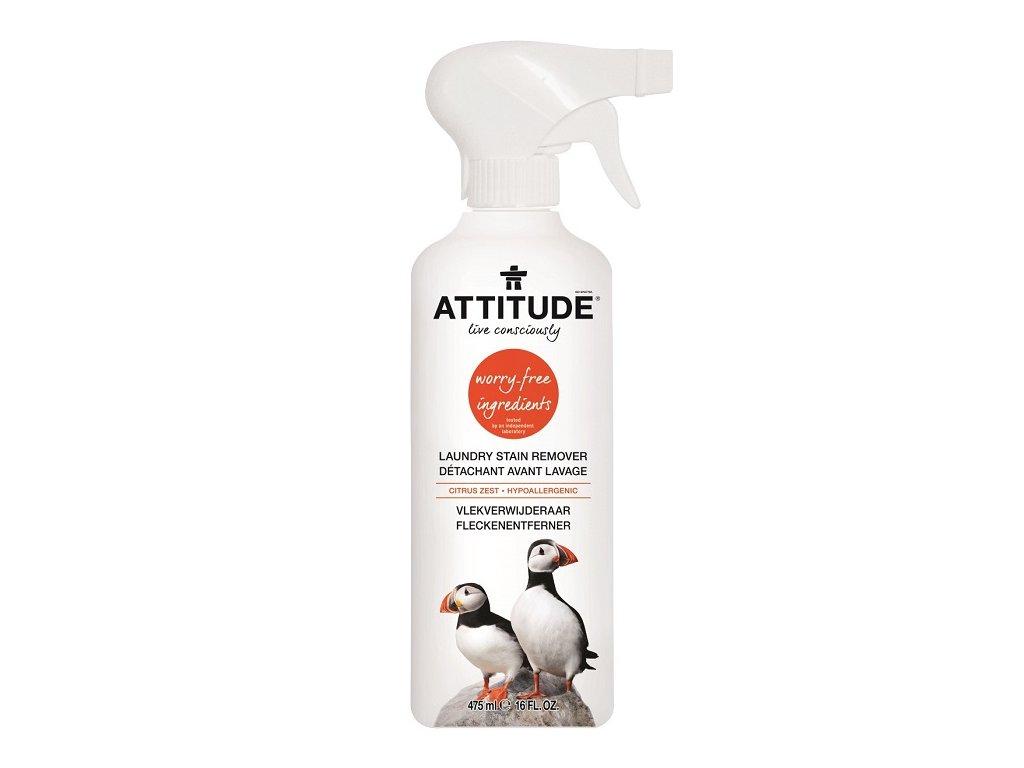 Attitude - Odstraňovač skvrn s vůní citronové kůry, 475ml
