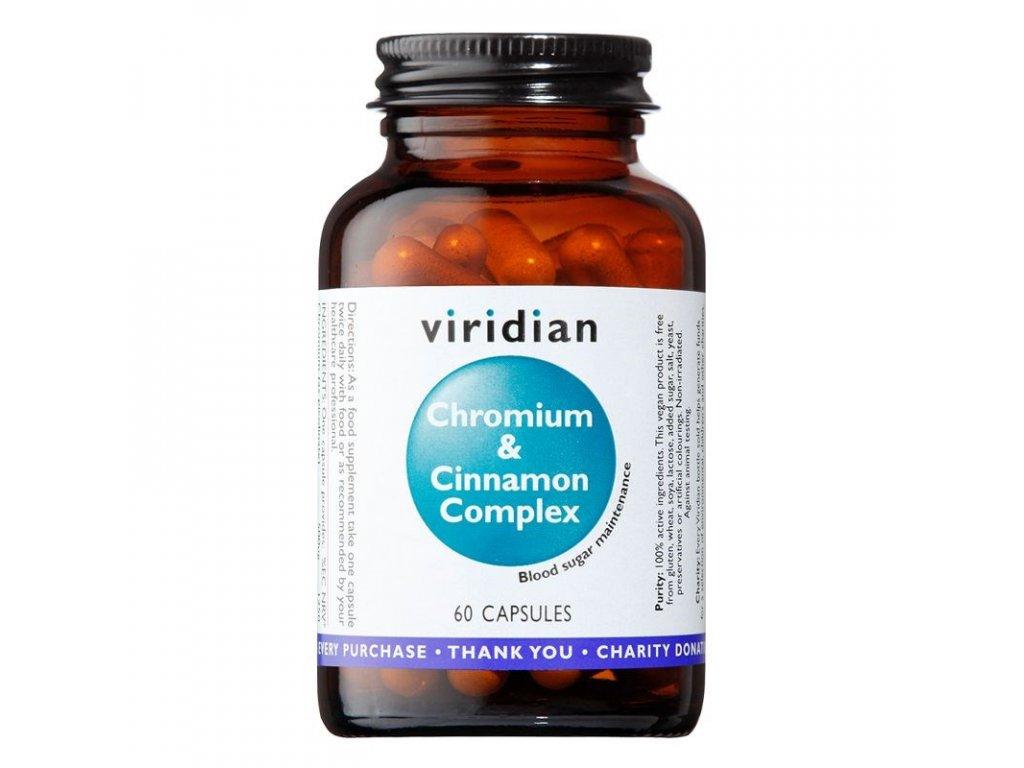 ChromiumaCinnamonComplex60kapsli viridian