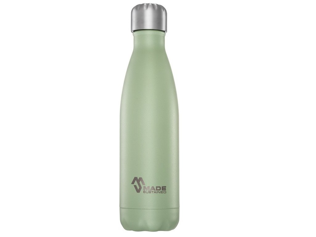 Made Sustained 500ml insulated Knight bottle Desert Sage web