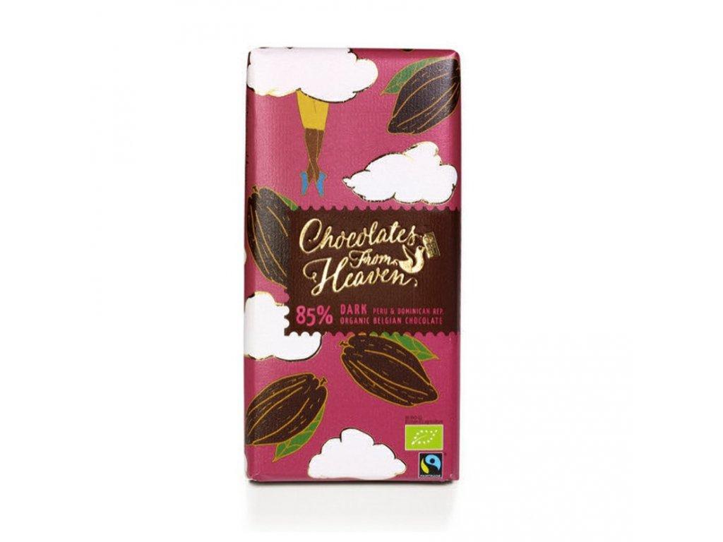 BIO horka cokolada Peru a Dominikanska republika 85 100g 3