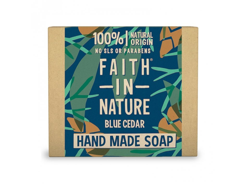 mýdlo modrý cedr, 100g