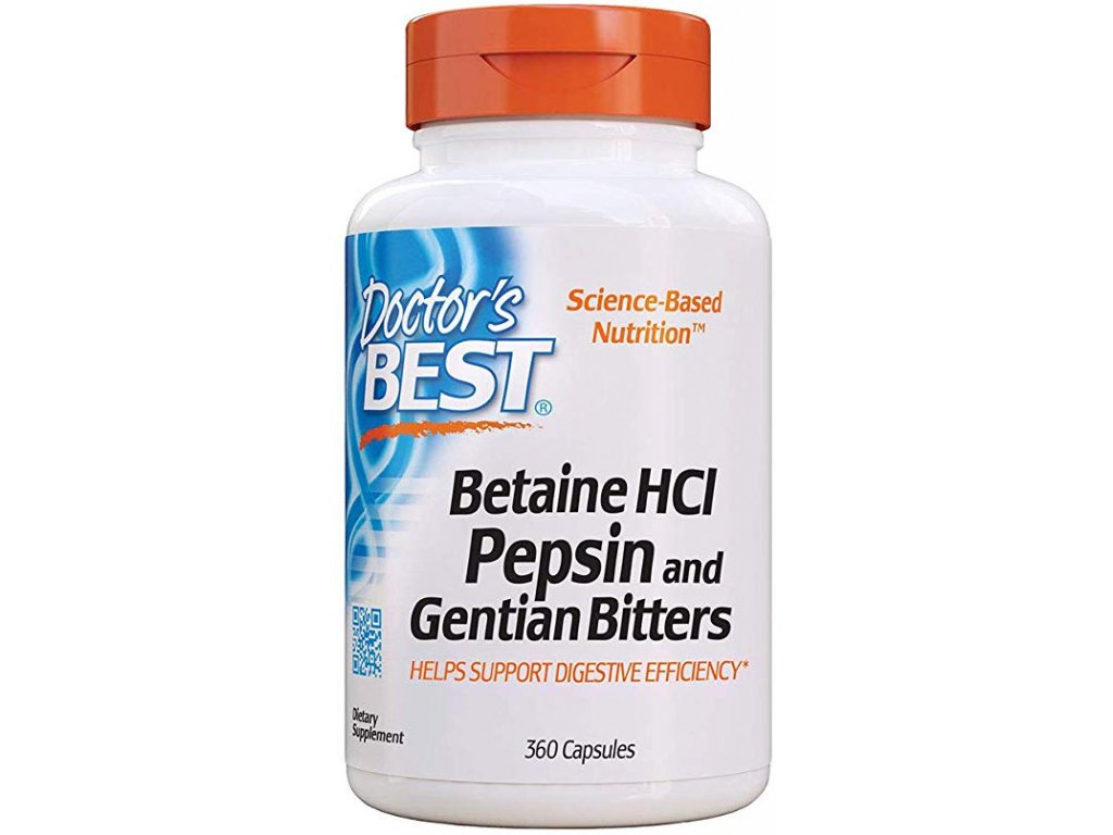 Betaine HCl + Pepsin & Gentian Bitters 2
