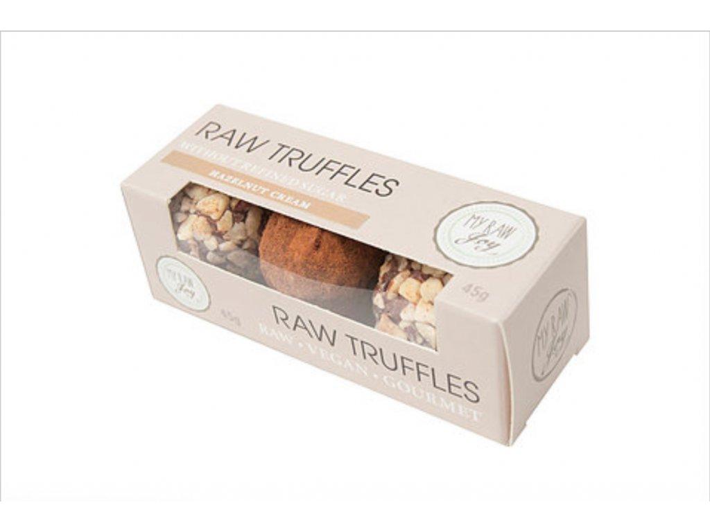 My Raw Joy - Truffles Lískooříškový krém, 45g