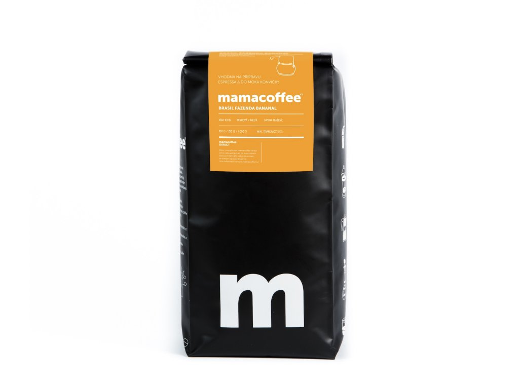 Mamacoffee - Brasil fazenda Bananal, 1000g