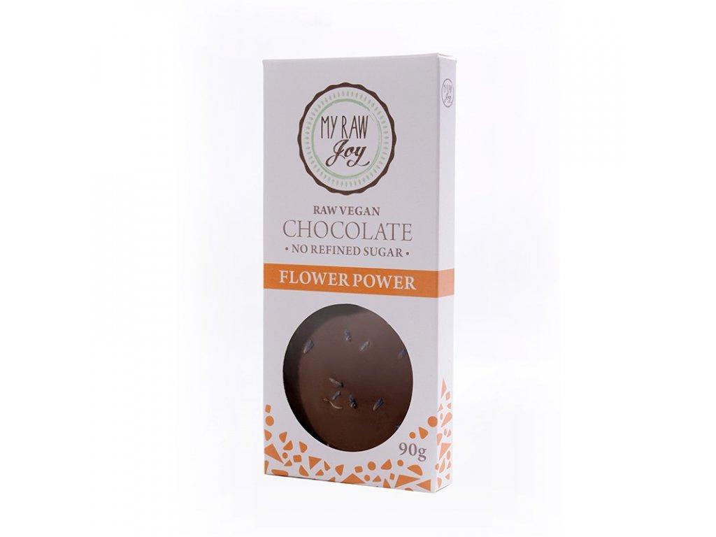 My Raw Joy - Čokoláda Jedlé květy  CZ-BIO-002 certifikát